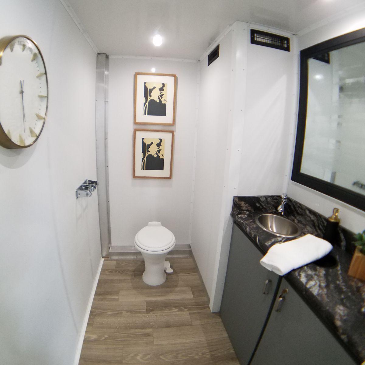 2 Station Restroom Trailer