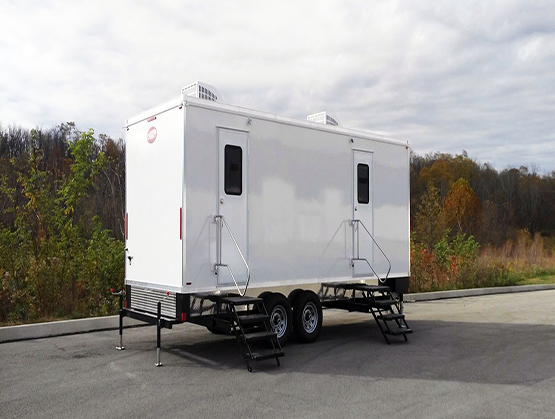 Mobile restroom trailer rentals Sacramento