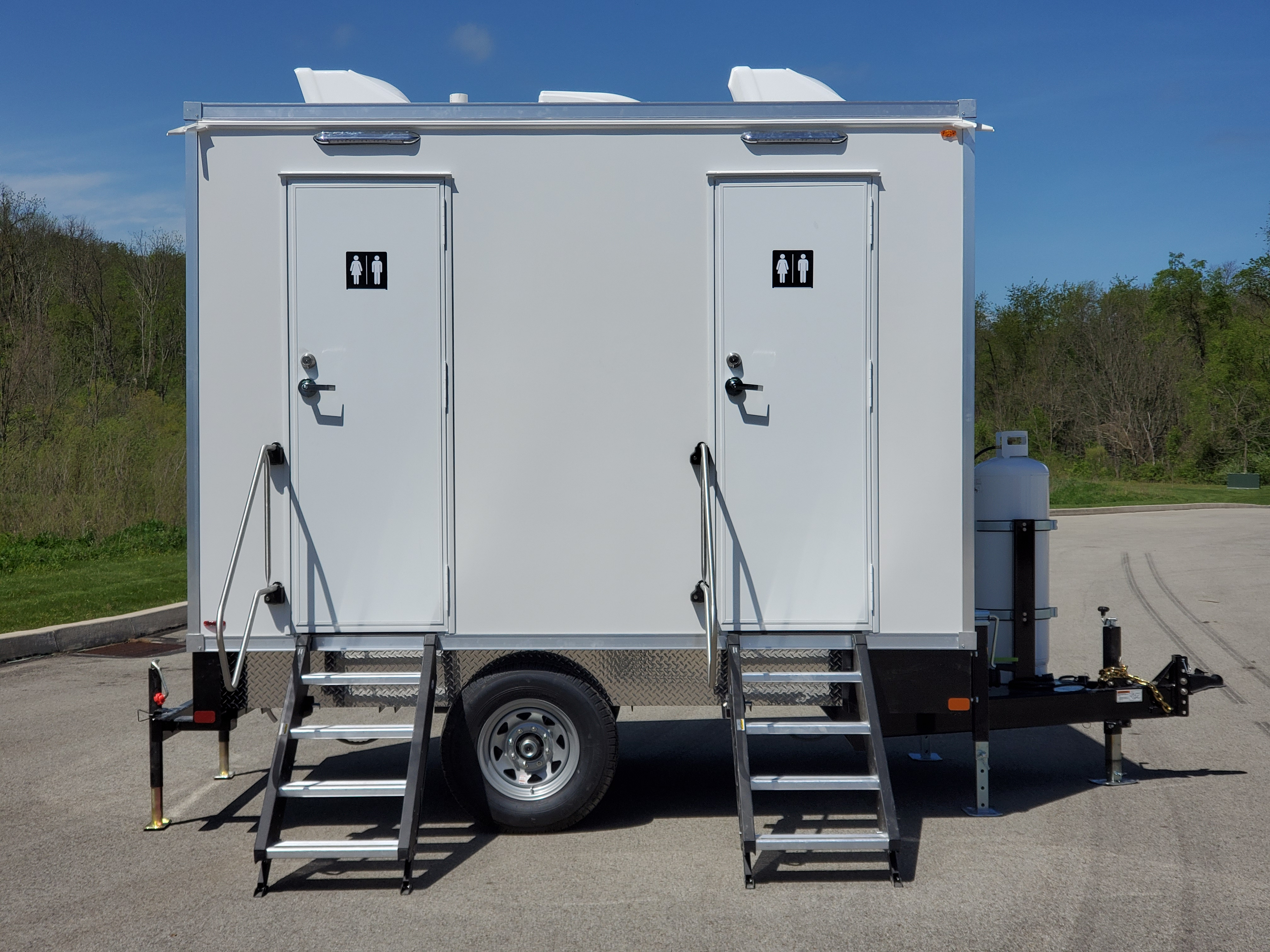 Combo Restroom and Shower Trailer